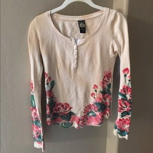 Flower print thermal from Lucky Brand